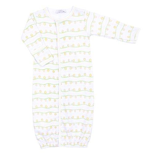 Magnolia Baby Unisex Baby Hatchlings Printed Converter Gown Yellow (Printed Converter Gown)