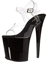 Pleaser Women's Flam808/C/B Platform Sandal