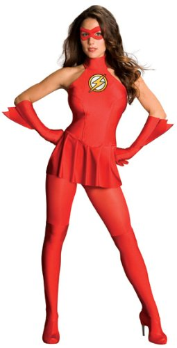 Secret Wishes The Flash Costume, Red, Large