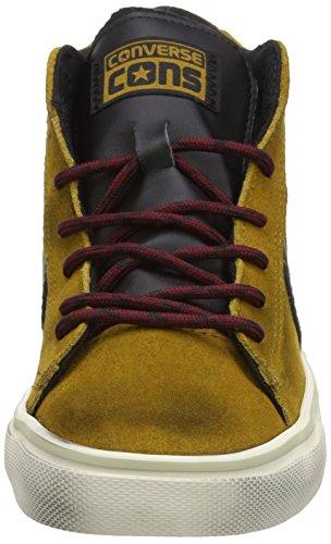 Converse Pro Leather Vulc Mid Suede/Lth -  para hombre Antiqued Gold/Black
