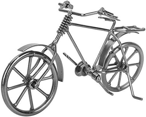 デコレーションシ ミュレーション自転車モデル 手作り 綺麗 鉄芸 リビングルーム ワインキャビネット デスクテレビ キャビネット