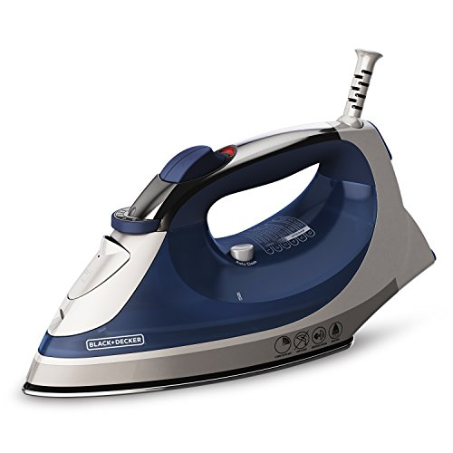 BLACK+DECKER Corded Xpress Steam Iron, Blue, IR08X by BLACK+DECKER