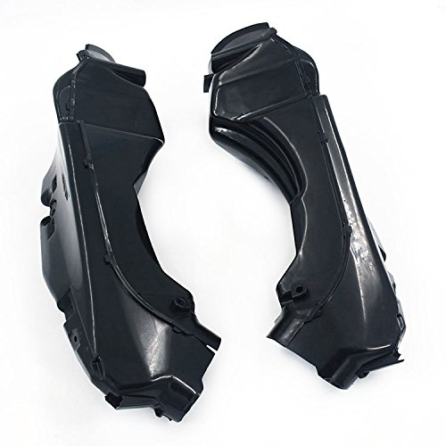 Fast Pro Motorcycle Black Left Right Ram Air Intake Tube Duct For GSXR600 750 11-15 K11: