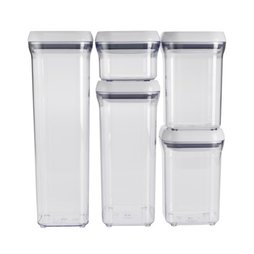 OXO 5 Piece Good Grips Containers