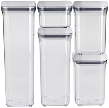 OXO Good Grips 5-Piece Food Storage Container Set