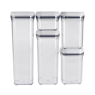 OXO Good Grips 5-Piece Airtight Food Storage POP Container Set