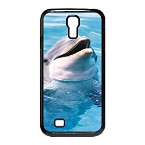 Dolphin Brand New Cover Case for SamSung Galaxy S4 I9500,diy case cover ygtg518595 by runtopwell