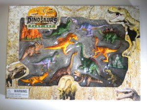 New! BILLY V Extinct World Dinosaurs Playset and Accesories
