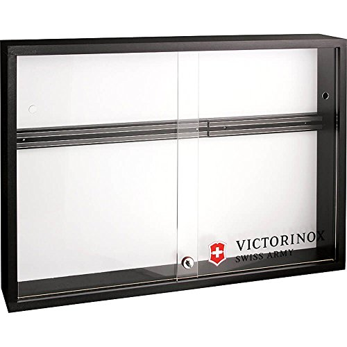 Victorinox Locking Magnetic Knife Display Cabinet With Plexi Doors White 10001 by Victorinox