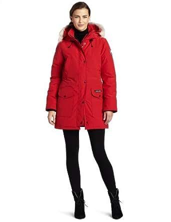 Amazon.com: Canada Goose Women's Trillium Parka,Red,Medium