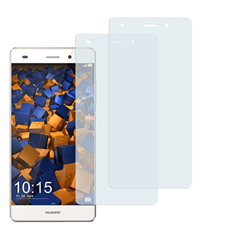 2 x mumbi Displayschutzfolie Huawei P8 Lite Schutzfolie