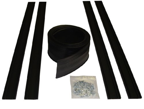 - Auto Care Products 54016 16-Feet Garage Door Bottom Seal Kit with Track and Mounting Hardware