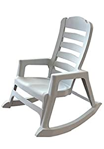 Stack Rocking Chair Wht