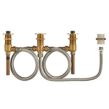 Image of American Standard R910 Flash Roman Tub Filler Universal Rough-in Valve with Hand Shower Attachement, Unfinished Home Improvements