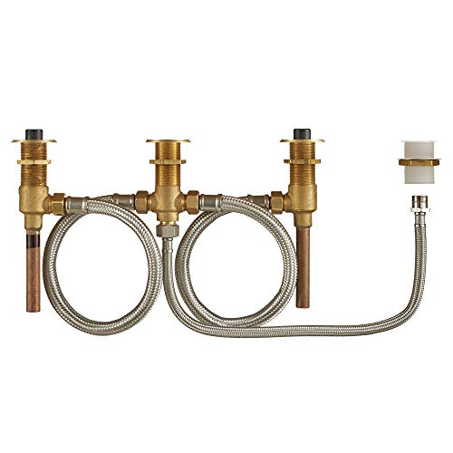 American Standard R910 Flash Roman Tub Filler Universal Rough-in Valve with Hand Shower Attachement Unfinished