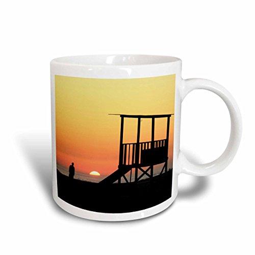 3dRose 3dRose Sunset beach, Gulf Shores, Orange Beach, Alabama - US01 FVI0069 - Franklin Viola - Ceramic Mug, 15-ounce (mug_87286_2), , - Shores Gulf Outlet