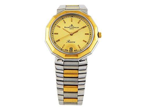 baume-et-mercier-riviera-swiss-quartz-gold-womens-watch-1462837-certified-pre-owned