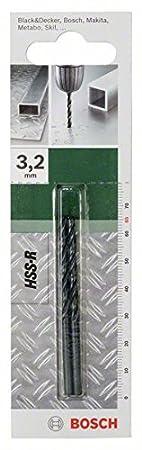 Bosch 2609255007 Foret m/Ã/©tal HSS-R Diam/Ã/¨tre 4,0 mm