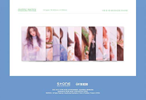 Off The Record IZONE IZONE - HEARTIZ [Sapphire ver.] (2nd Mini Album) 1CD+106p Photobook+Clear Sleeve+Mini Photobook+2Photocards+Pop-up Card+Folded Poster+Double Side Extra Photocards Set by Off The Record (Image #5)