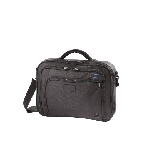Travelpro Luggage EXECUTIVE PRO Checkpoint Friendly Slim Computer Brief, Black, One Size (Checkpoint Luggage)