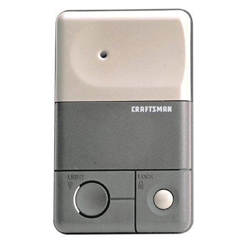 Craftsman Wall-Mounted Premium Control Console, (Craftsman Garage Opener)