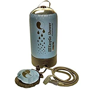 EasyGo Products - 2016 Model Pressurized Solar Camping & Rinse Shower