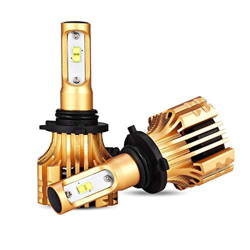 Auxbeam LED Headlights F-S6 Series 9006 LED Headlight Bulbs
