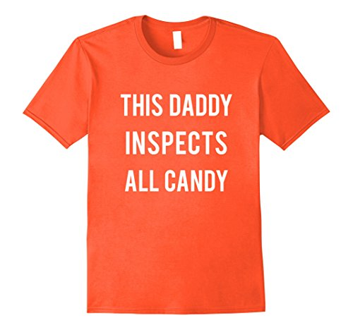 Mens Daddy Candy Inspector T-shirt Halloween Quick Costume Adults Medium (Easy And Quick Halloween Costumes)