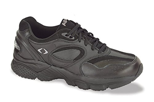 Apex Men's Lace WL X Last Walking Shoe, Black, 11 W US (Apex Mens Shoes)