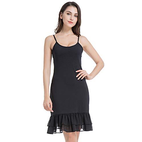 nder for Women Under Spaghetti Strap Lace Cami Black Small ()