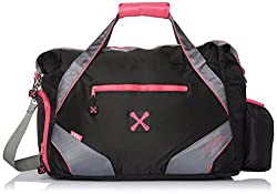 Fit & Fresh Jaxx Helios Gym To Work Bag, Duffle With Shoe Tunnel For Women, Pink