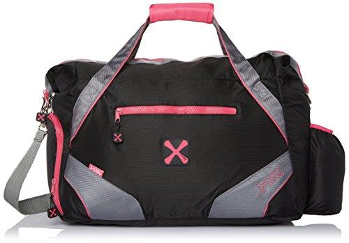 41tXUW8gmYL Fit & Fresh JAXX Helios Gym to Work Bag, Duffle with Shoe Tunnel for Women, Pink
