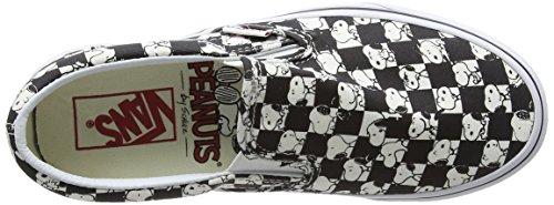 Vans Unisex X Peanuts Slip auf Sneaker Snoopy / Schachbrett