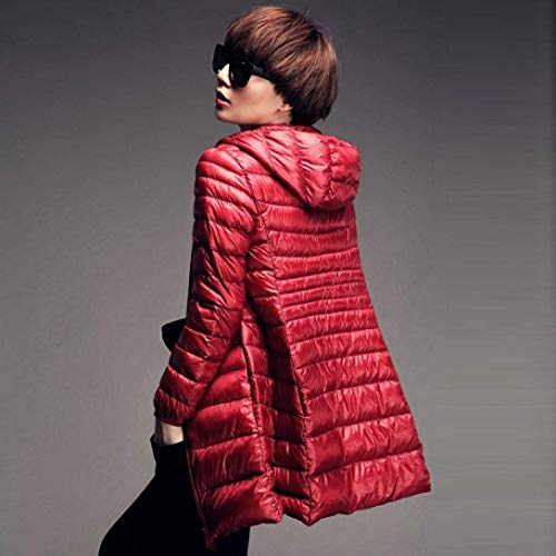 Longues Casual Fermeture Quilting Fashion Confortables Gaine breal Manteau Hiver Longue Blouson avec A Femme Capuche Poches Automne Manches Doudoune Xxqv0wWznU