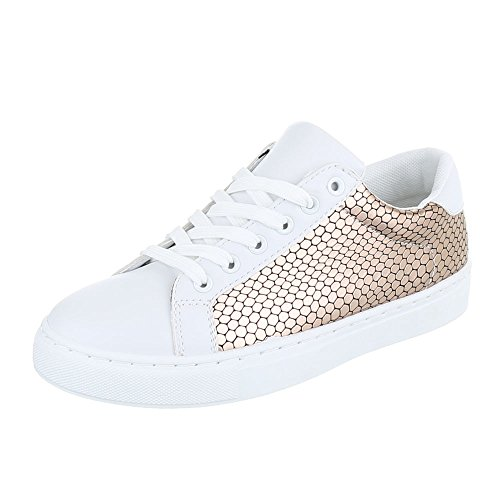 Ital-Design - Zapatillas de casa Mujer Bronze FC-S25