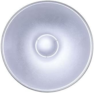Glow 28 Silver Beauty Dish for Balcar White Lighting /& Alien Bees Mount