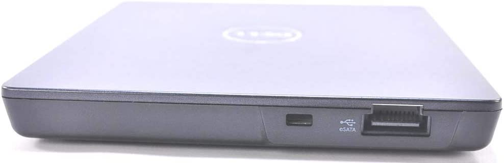 Dell External eSATA CD DVD Burner Writer ROM Player Drive E/Dock Docking Station and E/Port Replicator