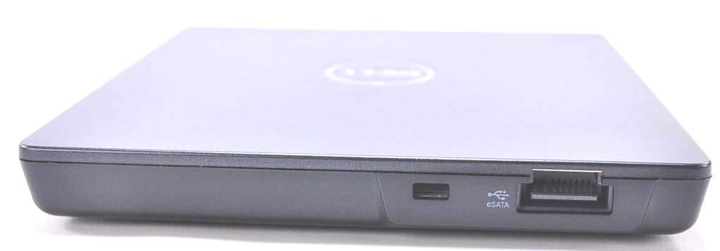 Dell External eSATA CD DVD Burner Writer ROM Player Drive E/Dock Docking Station and E/Port Replicator