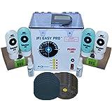 JFJ Easy Pro Universal CD/DVD Blu-Ray Repair Machine 110V with Extra Supply Kit (Up to 250 Repairs)