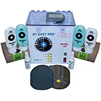 JFJ Easy Pro Universal CD/DVD Blu-Ray Repair Machine 110V with Extra Supply Kit (Up to 250 Repairs)