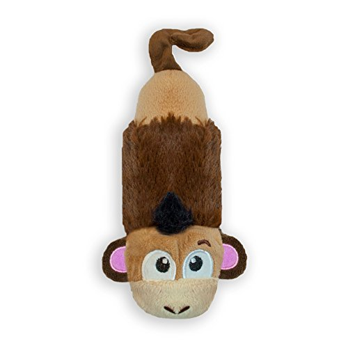Petstages Just For Fun No Stuffing Plush LiL Squeak Monkey Dog Toy for Small - Sheep Squeaker Mat