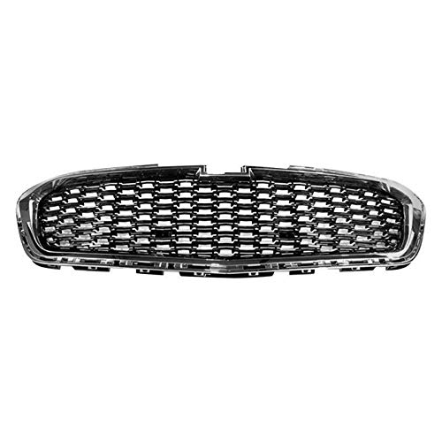New Front Center Grille For 2014-2015 Chevrolet Malibu & 2016-2016 Malibu Limited, Black With Chrome Molding GM1200675 ()