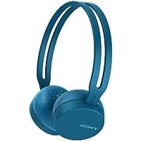 Fone de Ouvido OnEar Bluetooth, Sony, Azul, Médio