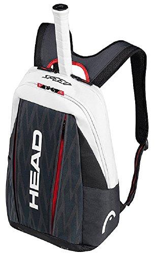 Head Djokovic Backpack - HEAD Djokovic Backpack Tennis Bag, Navy/Black/White
