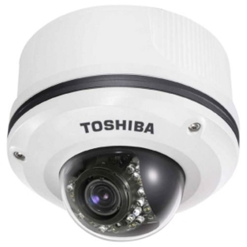 Toshiba IK WR12A - Network camera - dome - vandal / weatherproof ( Day&Night ) - vari-focal - 10/100, 10Base-T - (Mpeg Network)