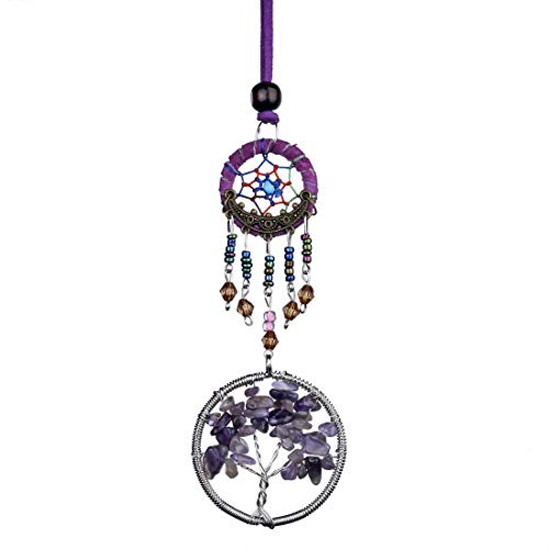 H&D HYALINE & DORA Crystal Tree of Life with Dream Catcher