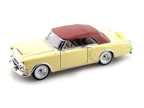 1953-packard-caribbean-soft-top-cream-1-24-by-welly-24016-by-packard