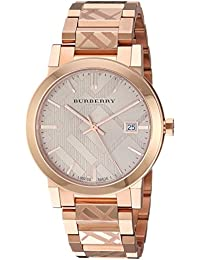 Rose Gold-Tone Dial Stainless Steel Quartz Ladies Watch BU9039