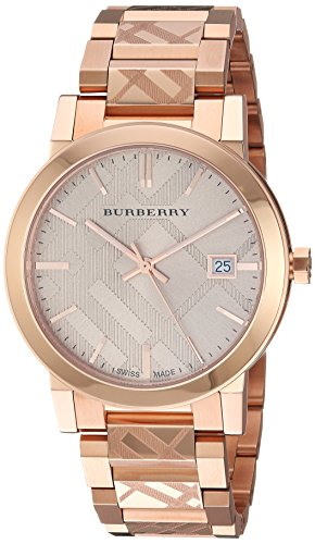 Burberry Rose Gold-Tone Dial Stainless Steel Quartz Ladies Watch BU9039 from Burberry