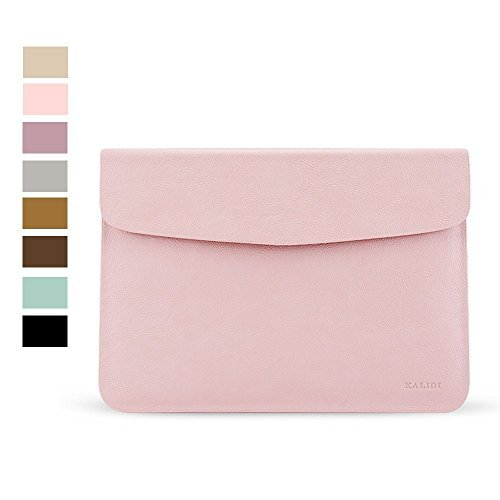KALIDI Laptop Sleeve Bag for MacBook Air 13 Inch/MacBook Air Pro Retina 13 Inch/Surface Pro3 with Keyboard Rose Gold